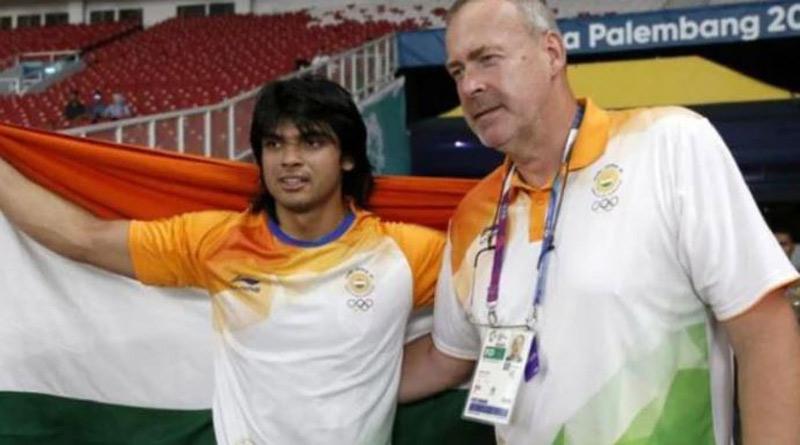 Neeraj Chopra's coach Uwe Hohn is the only athlete to throw a javelin 100 Metres or more। Sangbad Pratidin