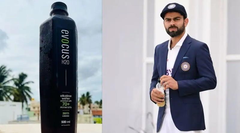 Team India skipper Virat Kohli drinks 'Black Water', here how much it costs | Sangbad Pratidin