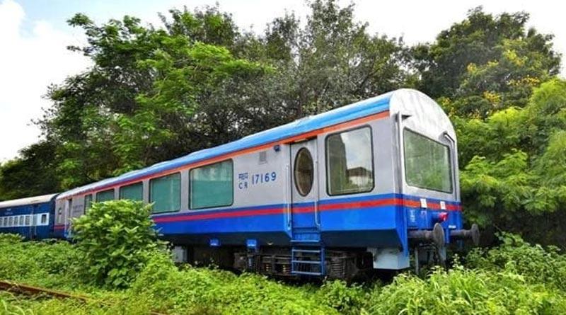 Train with new vista-dome coach starts service in Dooars area for Tour | Sangbad Pratidin