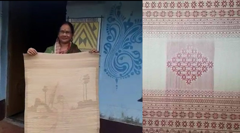 West Midnapore artists depict Ramayana on carpet, gets national acclamation | Sangba Pratidin