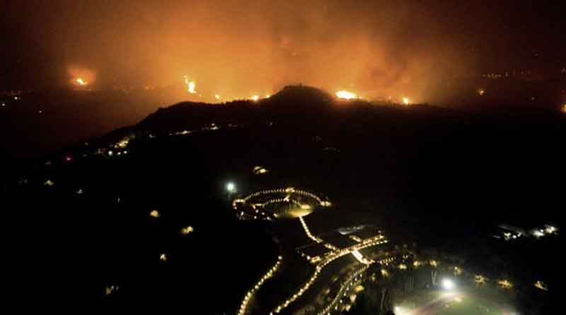 Wildfires rampage through forests in Greece and Turkey thousands evacuated | Sangbad Pratidin