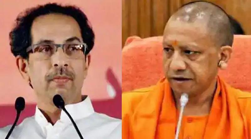 Uddhav reminded of 'Chappal' attack jibe against Yogi Adityanath on Narayan Rane's arrest case। Sangbad Pratidin