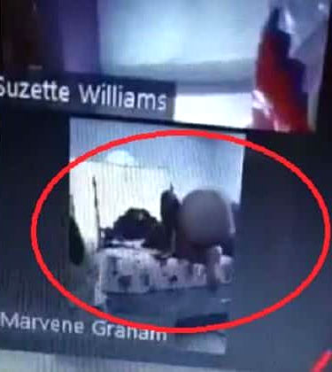 Jamaica Teacher's Zoom Call goes viral for this reason
