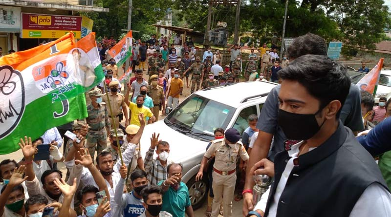 TMC leader Abhishek Banerjee slams BJP government in Tripura | Sangbad Pratidin