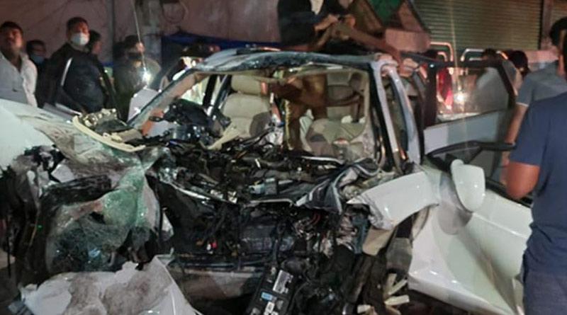 7 killed in Audi car crash in Bengaluru's Koramangala including DMK MLA's son | Sangbad Pratidin