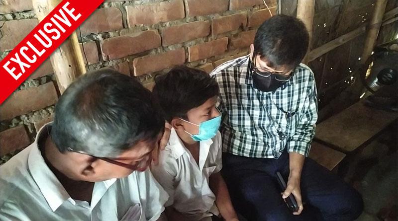 Kalna BDO extends helping hand to boy in distress after Sangbad Pratidin reveals misery   Sangbad Pratidin