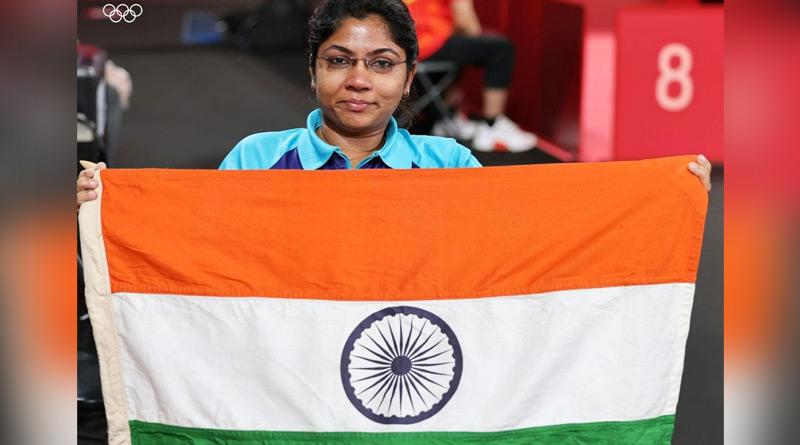 table tennis player Bhavina Patel claims silver in Tokyo Paralympics 2020 | Sangbad Pratidin