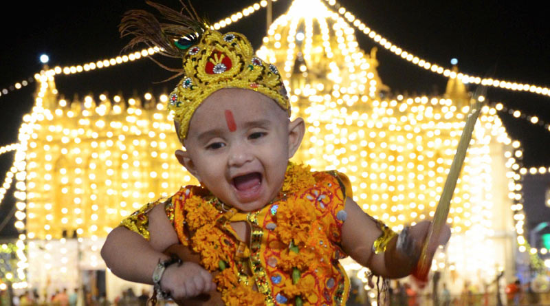 Here's how India is celebrating Janmashtami | Sangbad Pratidin Photo Gallery: News Photos, Viral Pictures, Trending Photos - Sangbad Pratidin