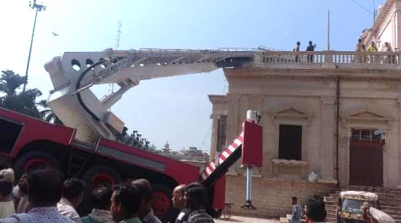 3 Killed As Trolley Of Crane Breaks While Installing National Flag In Gwalior   Sangbad Pratidin
