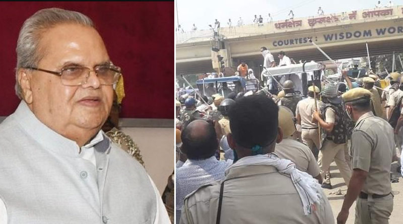 Meghalaya Governor Targets BJP Over Farmers' Protest   Sangbad Pratidin