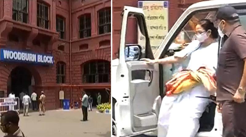WB CM Mamata Banerjee slams Amit shah   Sangbad Pratidin