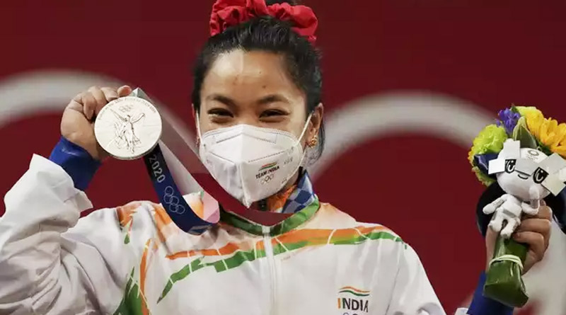 Film to be made on Olympic medallist Mirabai Chanu's life | Sangbad Pratidin