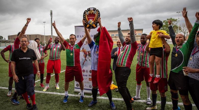 IFA Shield UK: Mohun Bagan Fan Club beats East Bengal Fan Club in London   Sangbad Pratidin