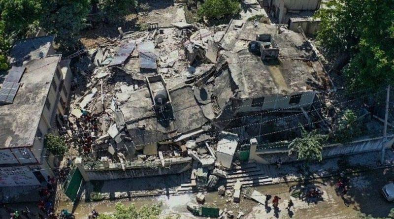 Death toll crosses thousand in Haiti earthquake | Sangbad Pratidin