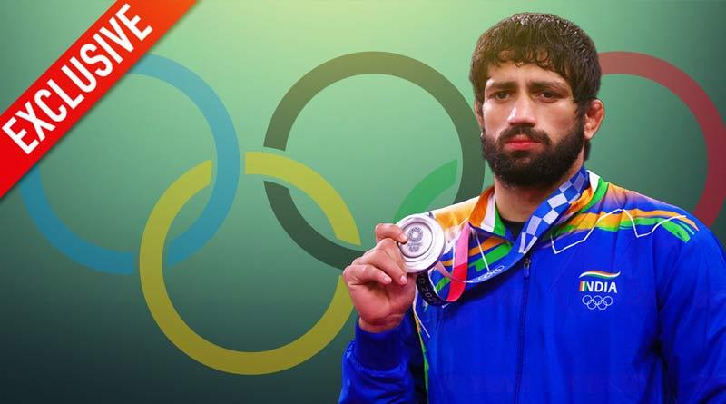 Exclusive interview of Indian wrestler Ravi Kumar Dahiya who won silver medal in Tokyo Olympics   Sangbad Pratidin