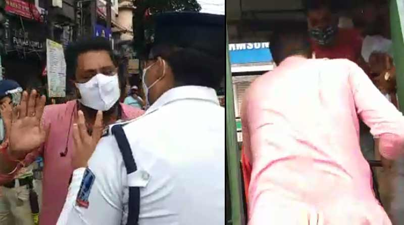 30 BJP workers including MLA Sankar Ghosh arrested ahead of 'Yuva Sankalpa Yatra' in siliguri | Sangbad Pratidin
