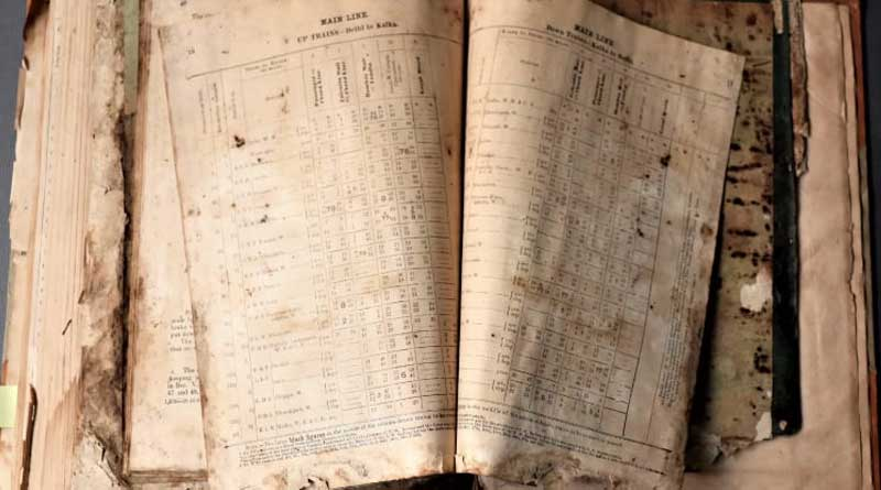Eastern Railways going to preserve five ancient time tables   Sangbad Pratidin