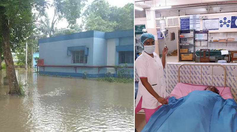 Doctors swim to hospital, save patient's life | Sangbad Pratidin