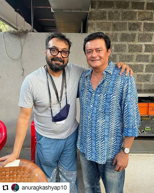 Saswata Chatterjee and Anurag Kashyap
