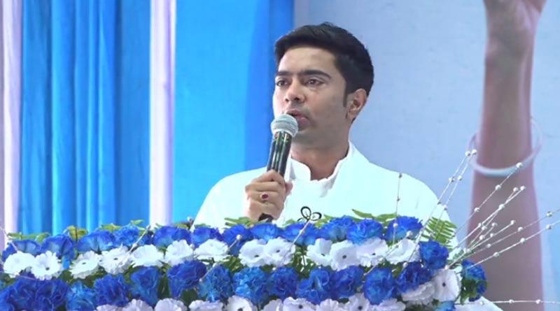 WB Assembly Polls 2021: Abhishek Banerjee attacks Congress directly at his election campaign in Samserjanj | Sangbad Pratidin