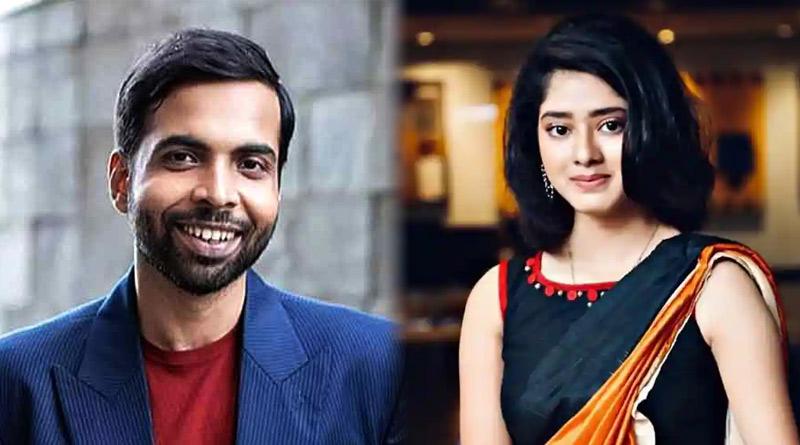 Ditipriya Roy shooting with Abhishek Banerjee in Mumbai | Sangbad Pratidin