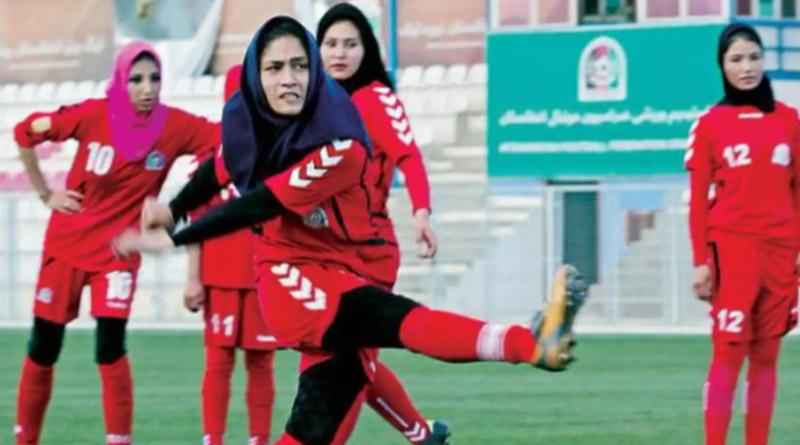 Afghan female footballers evade Taliban, reach Pakistan | Sangbad Pratidin