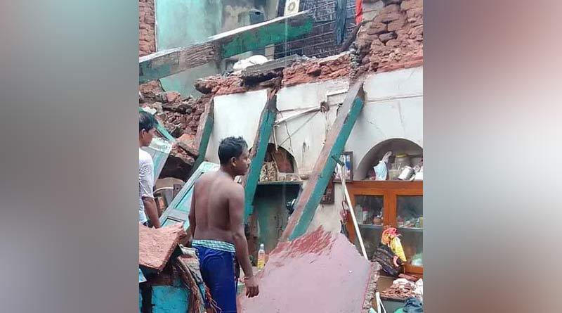 Building collapse in Kolkata's burrabazar area on thursday | Sangbad Pratidin