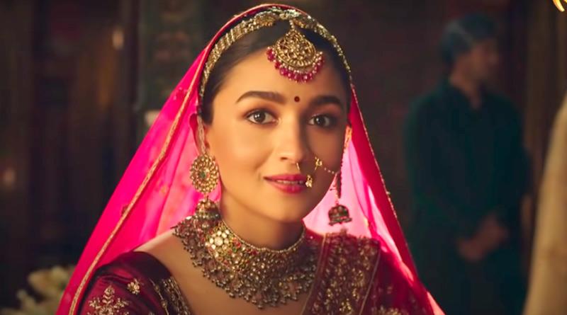 Alia Bhatt's latest bridal ad sparks controversy | Sangbad Pratidin