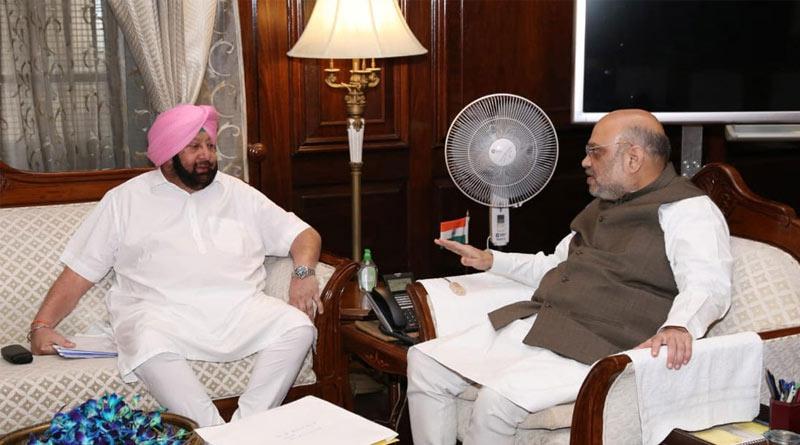 Captain Amrindar Singh snubbed by Congress meets Amit Shah in Delhi | Sangbad Pratidin