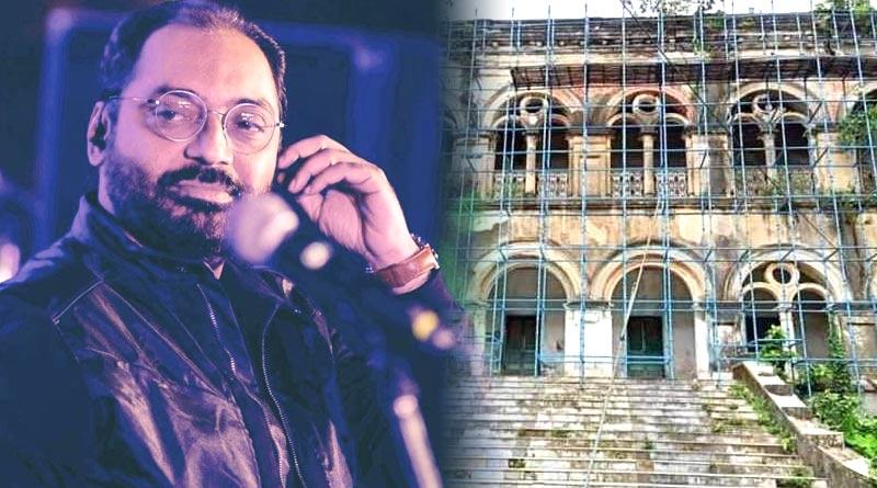 Anindya Chatterjee feels sad as part of Manojder Adbhut Bari famed Raja Kandarpa Narayan House of Mahishadal demolished | Sangbad Pratidin