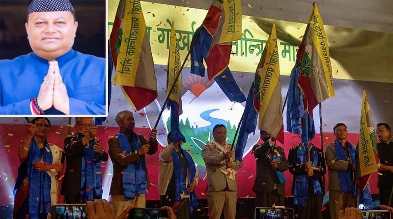 Darjeeling: Spilt in GJM, Anit Thapa forms new party BGPM | Sangbad Pratidin