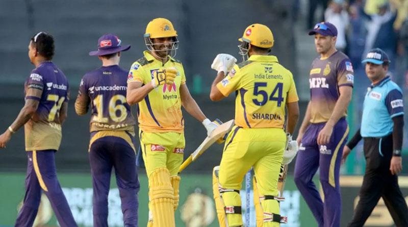 IPL 2021: Chennai Super Kings beats Kolkata Knight Riders by 2 wickets | Sangbad Pratidin