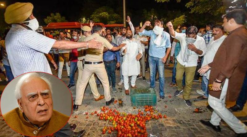 Anand Sharma slams 'hooliganism' outside Kapil Sibal's house | Sangbad Pratidin