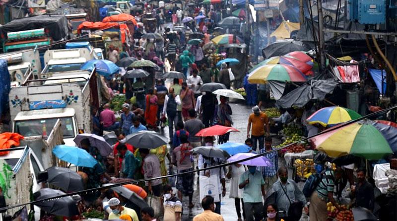 Heavy rains lash Kolkata, hightide at Digha, take a look | Sangbad Pratidin Photo Gallery: News Photos, Viral Pictures, Trending Photos - Sangbad Pratidin