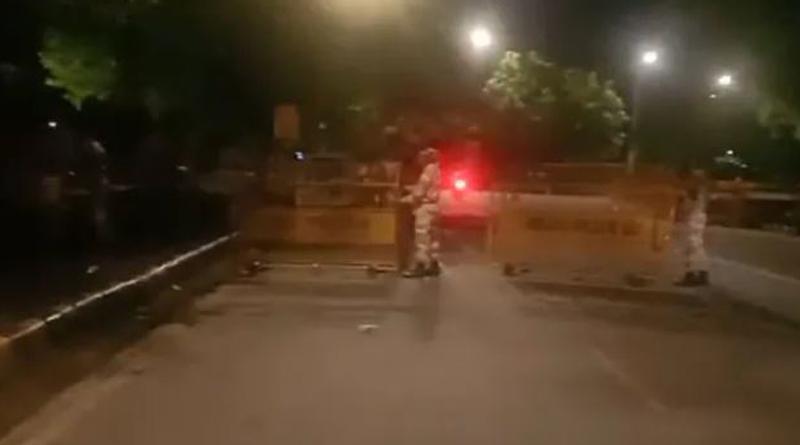 Delhi Traffic Police close Jharoda Kalan border over farmers' protest। Sangbad Pratidin