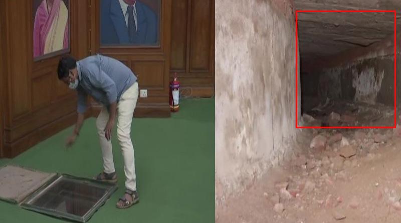 British-era tunnel connecting Delhi Legislative Assembly to Red Fort found। Sangbad Pratidin