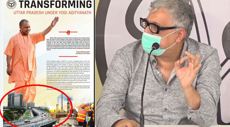 Derek O'Brien goofs up over Maa flyover advertisement controversy