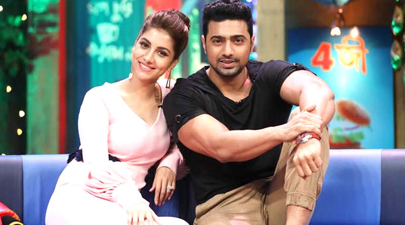 Dev and Rukmini Maitra announces wrap up of Kishmish shooting by 'Nagin Dance' | Sangbad Pratidin