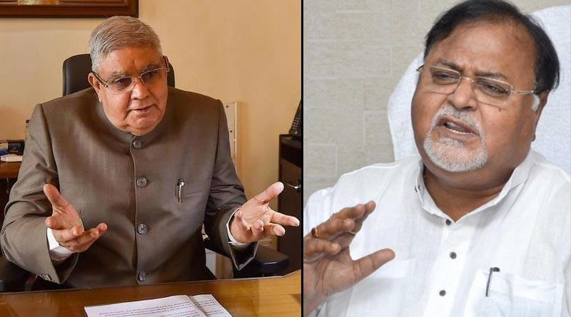 TMC leader Partha Chatterjee slams WB Governor Jagdeep Dhankhar । Sangbad Pratidin