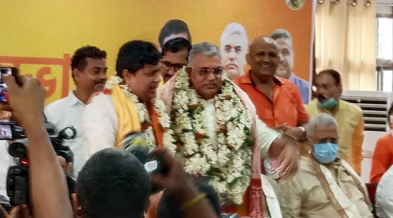Will continue working in Bengal, Says BJP MP Dilip Ghosh