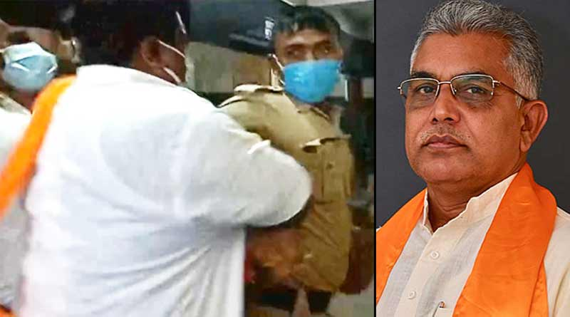 Dilip Ghosh stands by BJP worker who assaulted cop at NRS Hospital