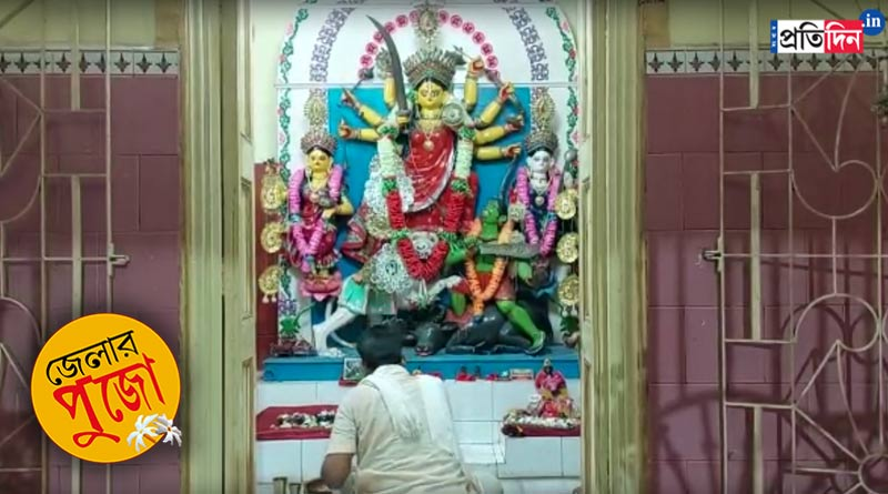 Durga Puja 2021: Family performs Durga Puja at Kalna without idol immersion ritual   Sangbad Pratidin