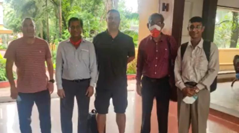 Manuel 'Manolo' Diaz and Angel Puebla Garcia have arrived in Goa | Sangbad Pratidin