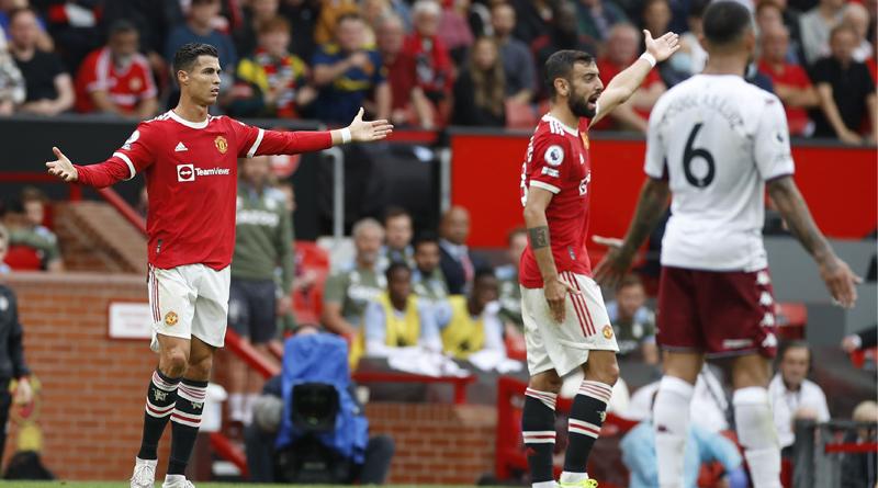 Manchester United lost against Aston Villa and Cristiano Ronaldo did not take Penalty। Sangbad Pratidin