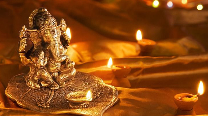 Ganesh puja home decoration tips | Sangbad Pratidin