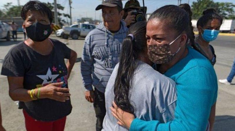 At least 116 dead in gang battle at Ecuador prison, 5 beheaded। Sangbad Pratidin