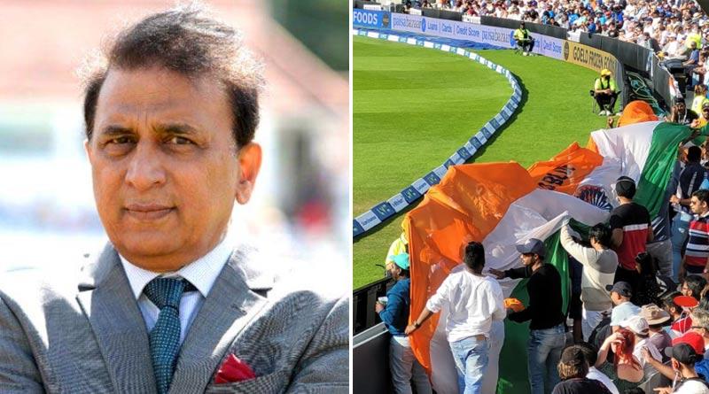 Sunil Gavaskar slams section of Indian fans for disrespecting Indian flag at the Oval   Sangbad Pratidin