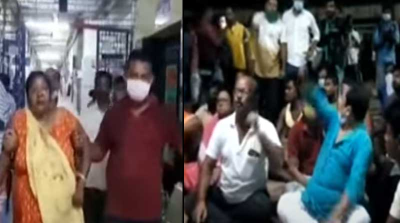 Five people seriously injured in political clash at Nadia's Hanskhali । Sangbad Pratidin