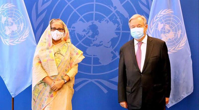 UN chief praises Bangladesh PM Sheikh Hasina | Sangbad Pratidin