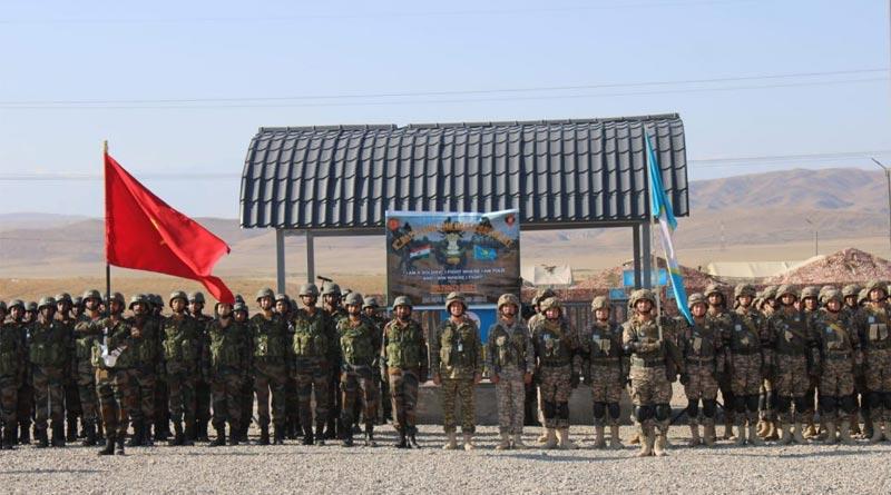 India, Kazakhstan joint military exercise 'KAZIND-21' begins   Sangbad Pratidin